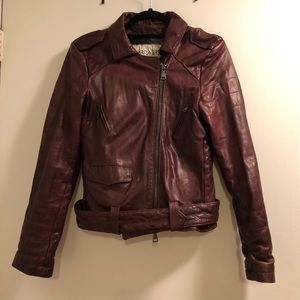 Giorgio Brato Quilted Leather Jacket Sz 42